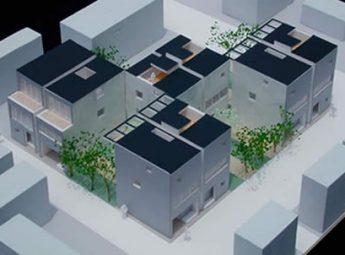 神戸・長田地区「復興まちづくり型分譲住宅」設計コンペ
